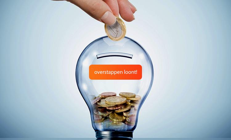 Overstappen van energieleverancier loont!